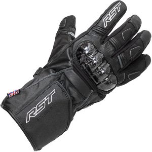 Black RST Rallye Cold Weather Riding Gloves