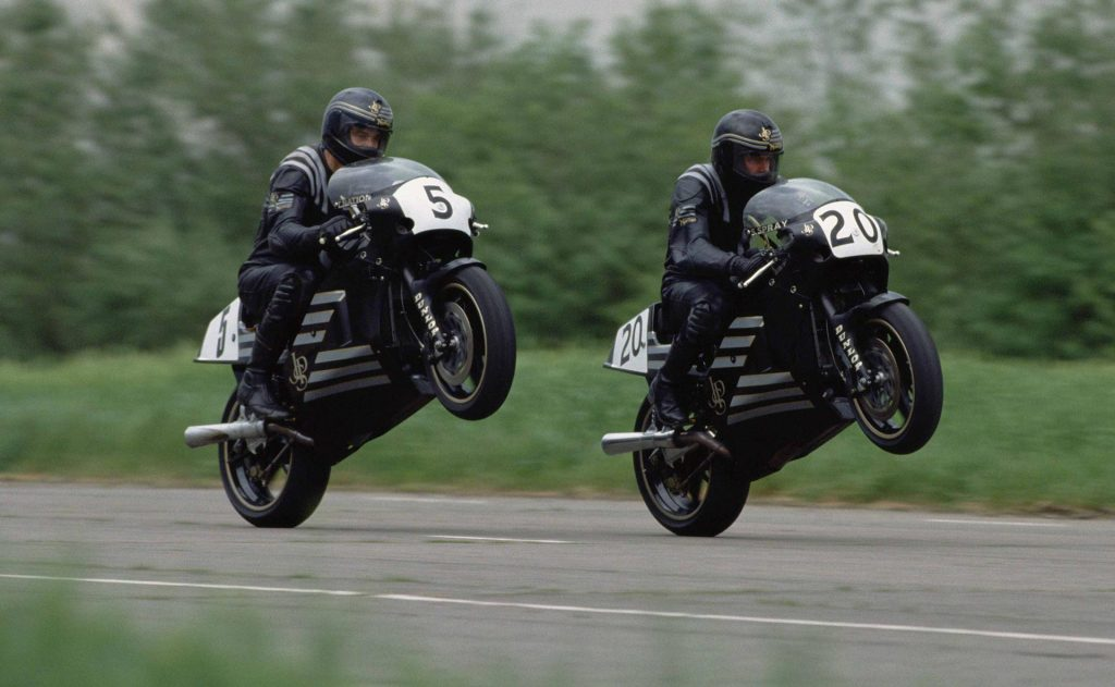 JPS Norton Race Bikes