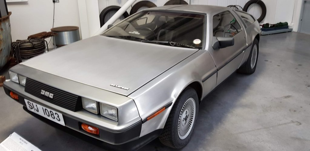 Delorean at Isle of Man Motor Museum