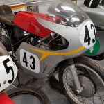 Honda 500 Replica at Isle of Man Motor Museum