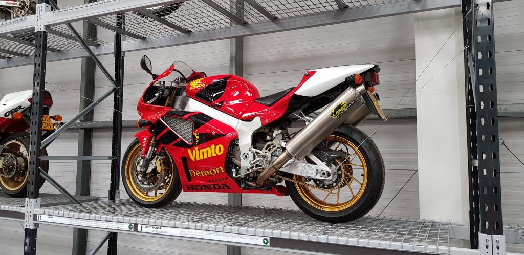 Vimto Honda SP1 at Isle of Man Motor Museum