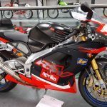 Aprilia RSV Mille at Isle of Man Motor Museum
