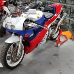 V4 Honda at Isle of Man Motor Museum