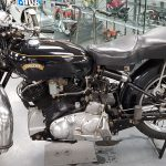 Vintage Vincent Motorcycle at Isle of Man Motor Museum