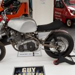 Guy Martin Wall of Death bike at Isle of Man Motor Museum