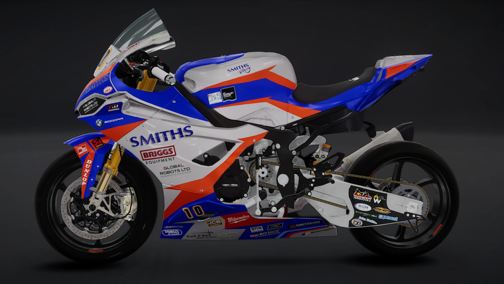 Isle of Man TT 2: Ride on the Edge Review, Peter Hickman Smiths BMW