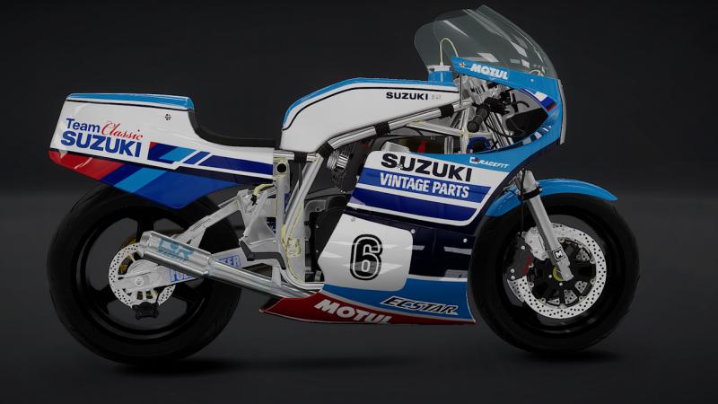 TT Isle of man 2 Ride on the Edge Classic Suzuki