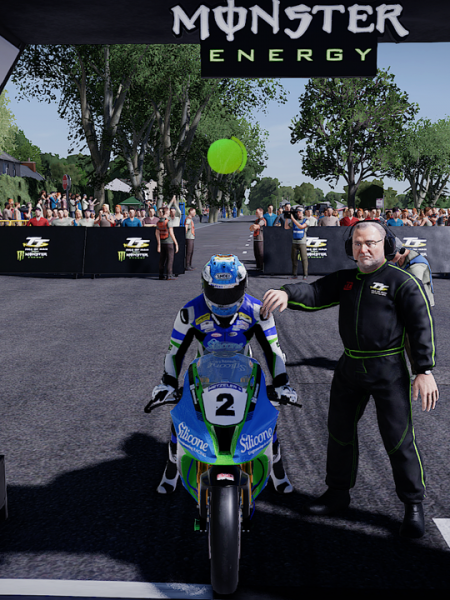 Isle of Man TT 2: Ride on the Edge Review, Start line