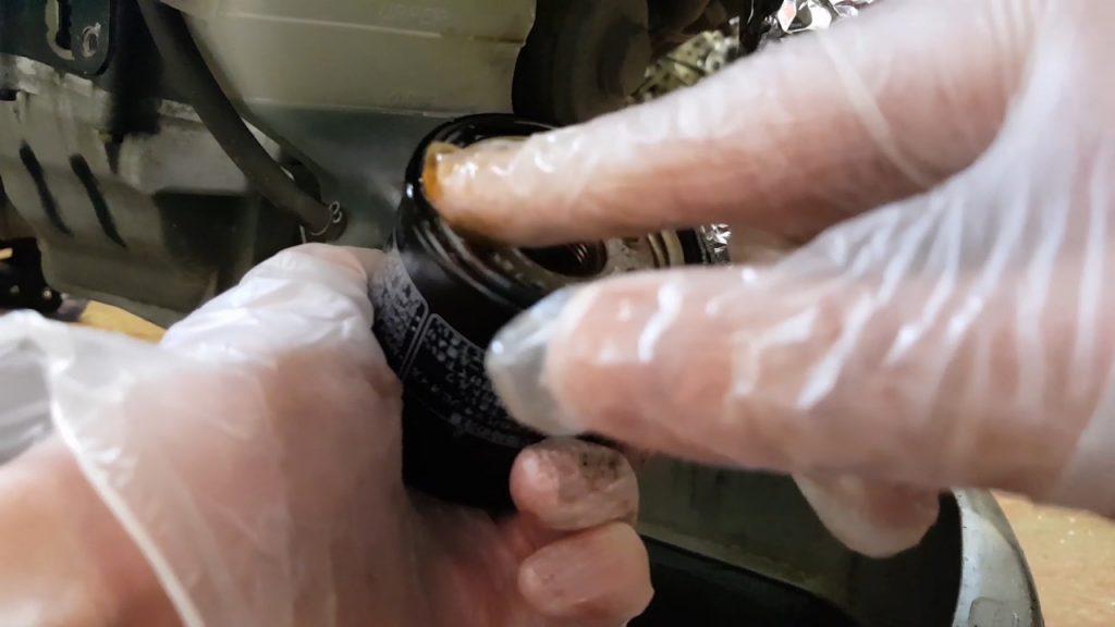 Honda CBR 600 RR Oil filter