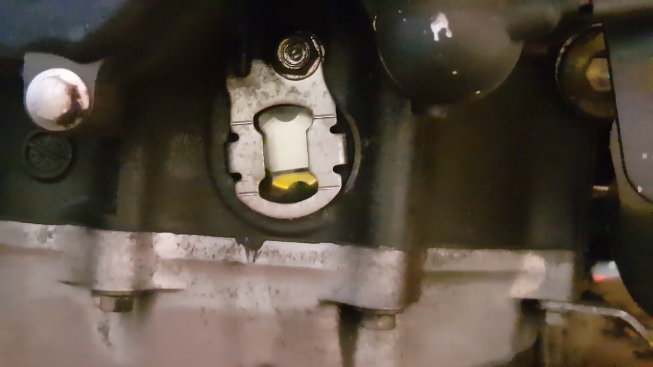 CBR 600 RR oil sight glass
