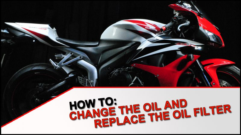 How To: Oil and Filter change on a 2007 – 2012 Honda CBR 600 RR