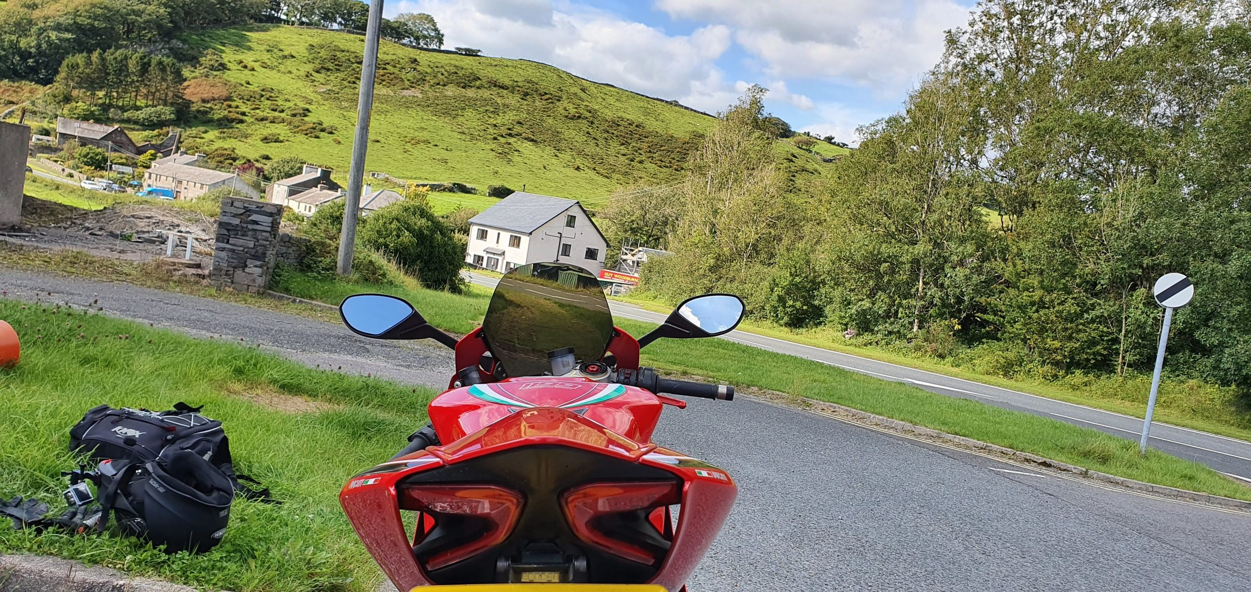 Ducati 1199 Panigale Review stop