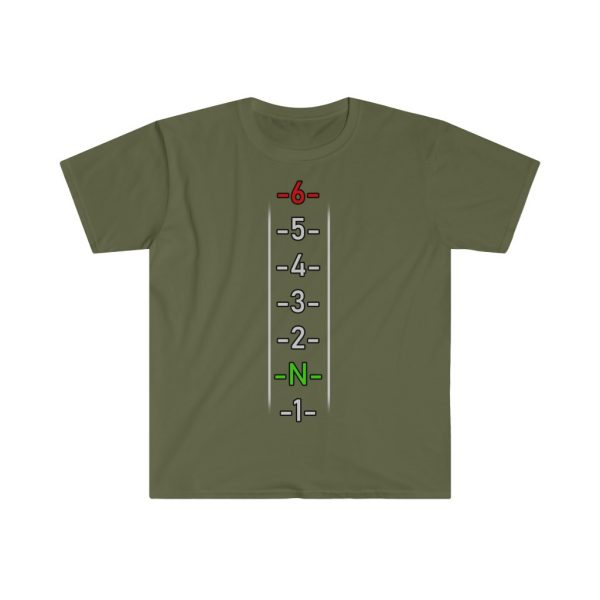 """""""One Down Five up"""" Unisex Softstyle T-Shirt 5"""