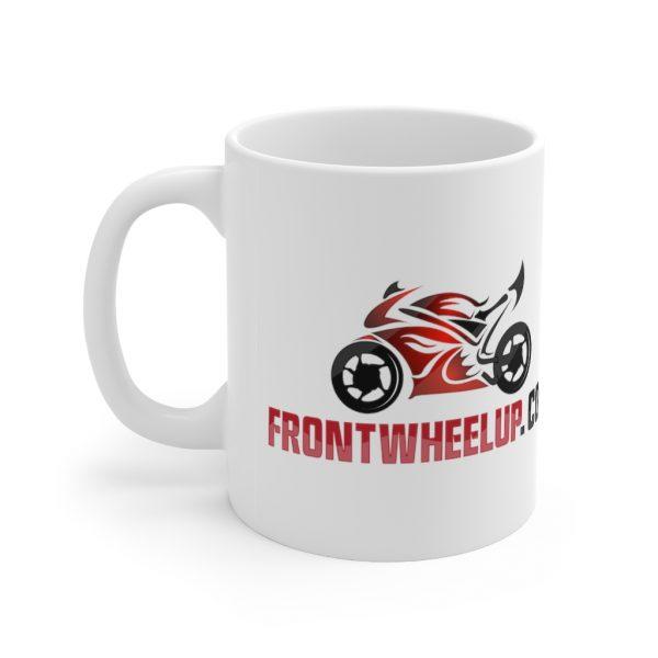 """Front Wheel Up"" Mug 3"