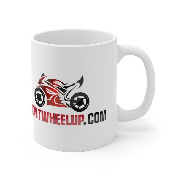 """Front Wheel Up"" Mug 4"