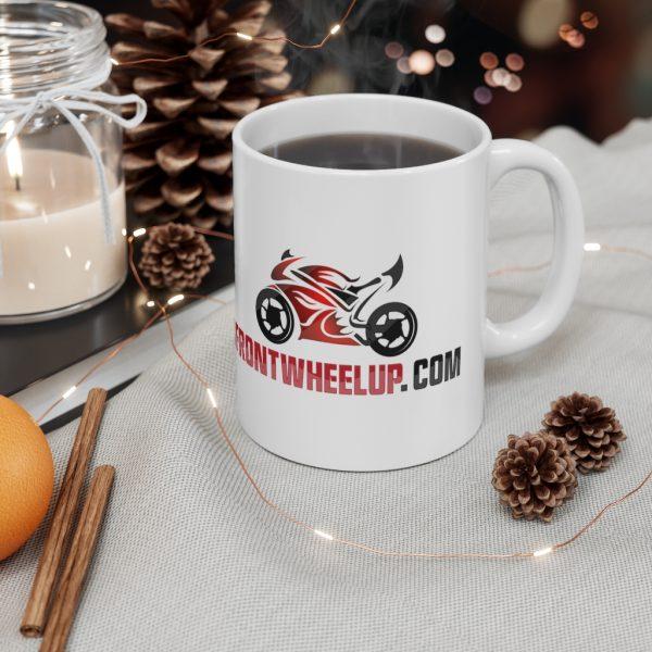 """Front Wheel Up"" Mug 5"
