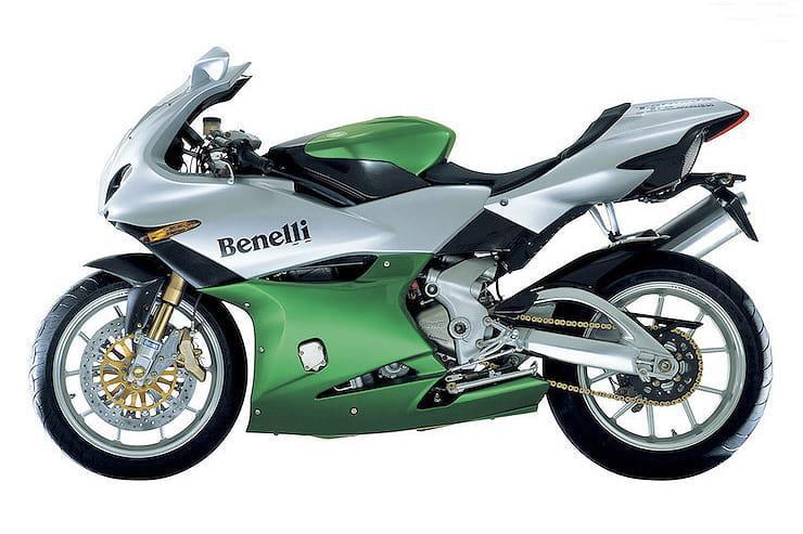 Discontinued Superbikes - Benelli Tornado Tre