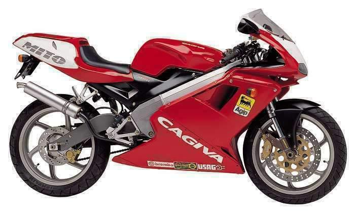 Discontinued Superbikes - Cagiva Mito