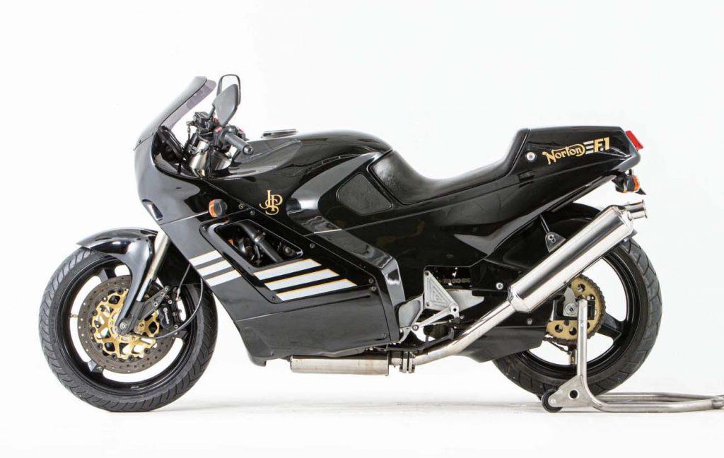 Discontinued Superbikes - Norton F1