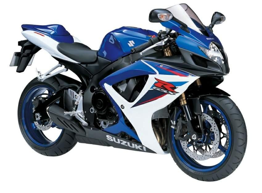 Discontinued Superbikes - Suzuki GSXR 600